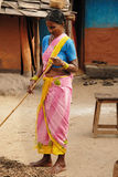 Tribal People in India Stock Photography