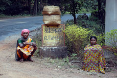 Tribal People in India Stock Photo