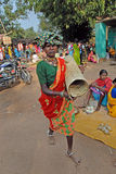 Tribal People in India Stock Images