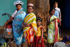 Tribal People in India Royalty Free Stock Photo