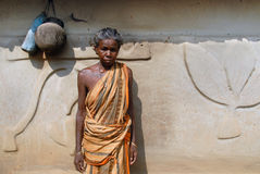 Tribal People in India Stock Photos