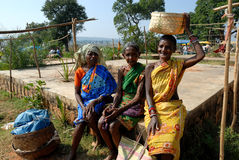 Tribal People in India Royalty Free Stock Photography