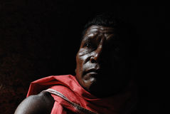 Tribal Portrait Stock Photos