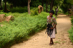 Tribal Poverty. India's elevated amount of poverty is mainly caused from the residents and their communities' inability to maintain essential and constant assets Stock Images