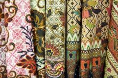 Tribal print fabrics stock images
