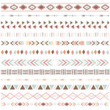 Tribal Ribbon Borders Collections Stock Photos