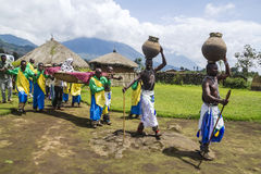 Tribal ritual - Rwanda Royalty Free Stock Photography