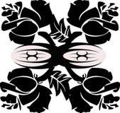 Tribal roses1. Tribal vector illustration of roses vector illustration