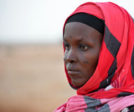 Tribal Scaring Nothern Somalia Stock Images