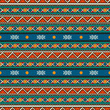 Tribal seamless pattern Stock Photos