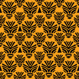 Tribal seamless pattern. African style  illustration Royalty Free Stock Image
