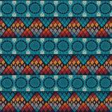 Tribal seamless pattern. Royalty Free Stock Photo