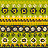 Tribal seamless pattern. Royalty Free Stock Photography
