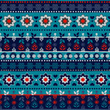 Tribal seamless pattern. Royalty Free Stock Image