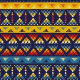 Tribal seamless pattern Stock Photo