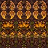 Tribal seamless pattern Stock Photos