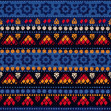 Tribal seamless pattern. Stock Image