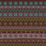 Tribal seamless pattern. Stock Image