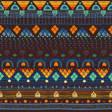 Tribal seamless pattern. Royalty Free Stock Photos