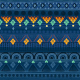Tribal seamless pattern. Stock Photo