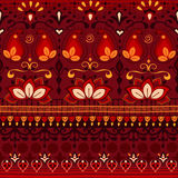 Tribal seamless pattern. Royalty Free Stock Image