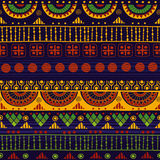 Tribal seamless pattern. Stock Photo