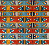 Tribal seamless pattern. Colorful abstract vector background. royalty free illustration