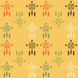 Tribal seamless pattern3 royalty free illustration