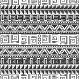 Tribal seamless pattern Royalty Free Stock Photo
