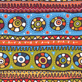 Tribal seamless pattern Royalty Free Stock Photos