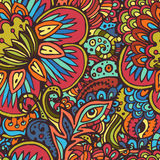 Tribal seamless pattern Stock Image