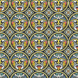 Tribal Seamless Pattern Royalty Free Stock Images