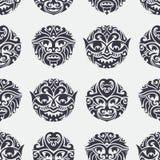 Tribal Seamless Pattern Royalty Free Stock Photo