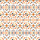 Tribal seamless pattern. Tribal navajo seamless pattern. Aztec grunge abstract geometric art print. Ethnic hipster theme Royalty Free Stock Photo