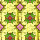 Tribal seamless pattern stock illustration