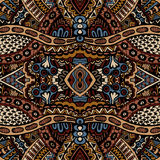 Tribal  seamless vector pattern ornamental. Tribal vintage ethnic seamless vector pattern ornamental Royalty Free Stock Image
