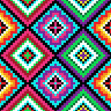 Tribal semless vector pattern Royalty Free Stock Photo