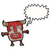 Tribal shaman cartoon Royalty Free Stock Photography