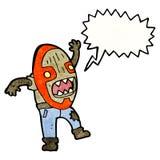 Tribal shaman cartoon Stock Photo