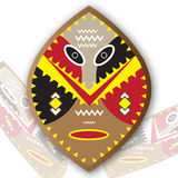 Tribal Shield Royalty Free Stock Images