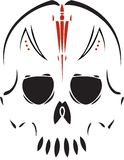 Tribal Skull Stock Photo