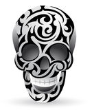 Tribal skull Royalty Free Stock Photography