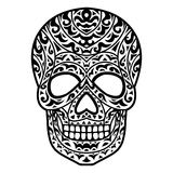 Tribal Skull head stock photography