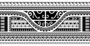 Tribal sleeve design. Maori style ethnic ornament, good for sleeve tattoo Royalty Free Stock Image