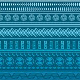 Tribal striped seamless pattern. Royalty Free Stock Photography