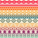 Tribal striped seamless pattern. Stock Photography