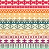 Tribal striped seamless pattern. Stock Photography