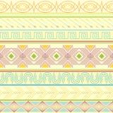 Tribal striped seamless pattern. Royalty Free Stock Image