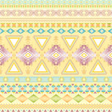 Tribal striped seamless pattern. Stock Image