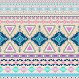 Tribal striped seamless pattern. Stock Photo